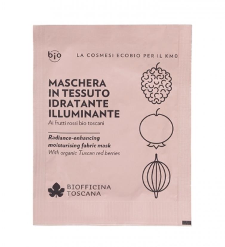 skincare post sbornia_maschera in tessuto illuminante