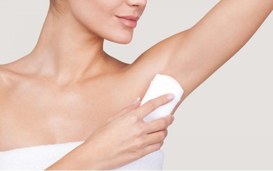 deodoranti per ascelle irritate