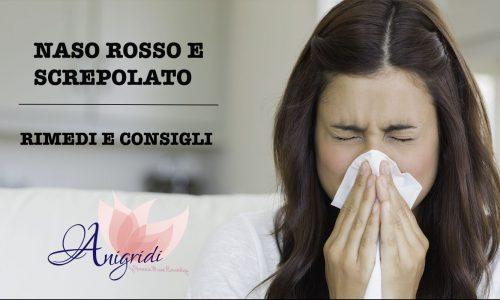 Come riparare la pelle del naso screpolata dopo il raffreddore